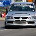 Mike Mahoney Mitsubishi EVO at Knockhill Time Attack