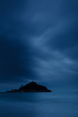 St. Michael's Mount, Cornwall, UK (KennethVerburg.nl) Tags: ocean greatbritain sunset sea england beach strand landscape vakantie twilight cornwall zee gb engeland stmichaelsmount landschap schemering marazion oceaan ukunitedkingdom verenigdkoninkrijk