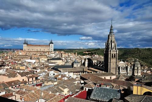 Toledo desde la iglesia de los Jesuitas.