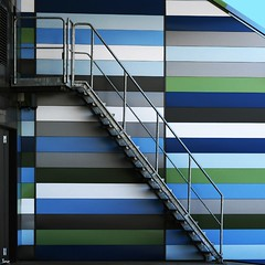 stairs (TeRo.A) Tags: blue urban abstract green architecture stairs steps kotka sininen vellamo vihre portaat creattivit superstarthebest