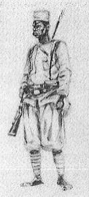force publique askari 1916