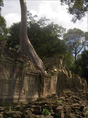 Preah Khan Wall