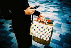 21st century communication (lomokev) Tags: woman smart shopping bag lomo lca xpro lomography crossprocessed xprocess brighton phone julia pavement text lomolca communication sidewalk granite bags agfa jessops100asaslidefilm agfaprecisa lomograph moble texting agfaprecisa100 juey newroad cruzando thecloud precisa jessopsslidefilm flickr:user=juey published:by=thecloud file:name=070829lomolca14 newrd use:on=moo image_selection:bp=people image_selection:bp=socialpeople