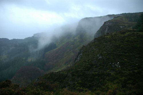 Misty Cliffs of Beinn an Sgurr