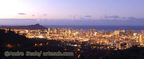 Waikiki dawn