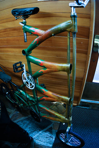 Tall Bike exhibit