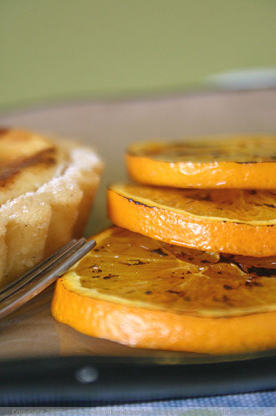 Caramelised Oranges