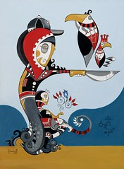bia fria (chamarelli) Tags: brazil color inca illustration ilustrao etnico