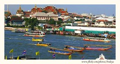 Lively Bangkok (Araleya) Tags: beautiful river thailand boat asia southeastasia bangkok transport panasonic dailylife dynamics lively chaophrayariver fz50 taxiboat beautifulife beautfiul araleya mywinners theperfectphotographer