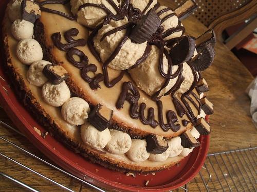 BirthdayPeanut ButterBombBrownieCheesecakeTorte4