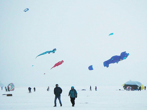 This Is Such a Brutal Winter, Can't We Bring Back Kites on Ice?