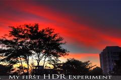 (VIjay Pandey) Tags: vijay sky india home colors night landscape nikon bangalore kitlens hues 1855mm nikkor hdr pandey photomatix d40 nikond40 vijaypandey