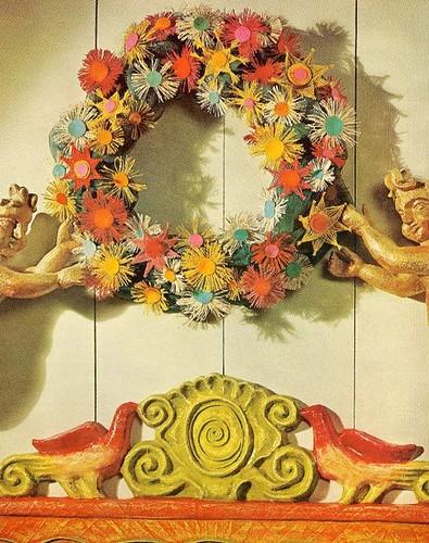60's Christmas wreath