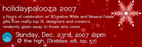 holidaypalooza 2007