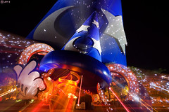 Sorcerer's Mickey Hat at the Disney Hollywood Studios (Jeff_B.) Tags: disney disneyworld hollywood disneymgmstudios mousehat studiossorcerermickey