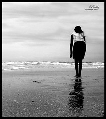 Looking away (!paddy) Tags: india beach girl paddy sister goa picture grayscale unforgettable naina tup padmanabhan the varca theunforgettablepictures tup2