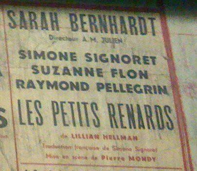 metro paris affiche téâtre