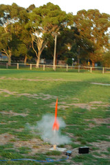Big Red Rocket Launch