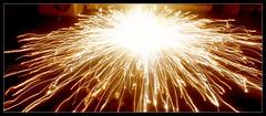 Spark of Life (Raj Potula) Tags: fire diwali sparks spark groundchakra depawali