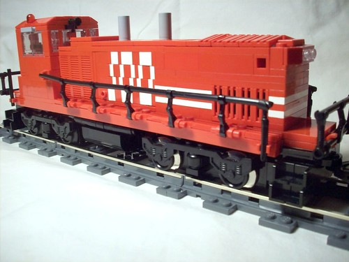 MP15AC LEGO Train by Matt Hamann
