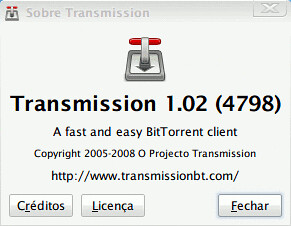 Transmission - um cliente open-source de BitTorrent para Linux e Mac