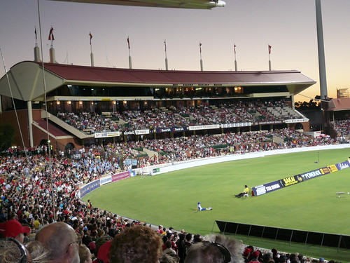 Crowds At Adelaide oval 2
