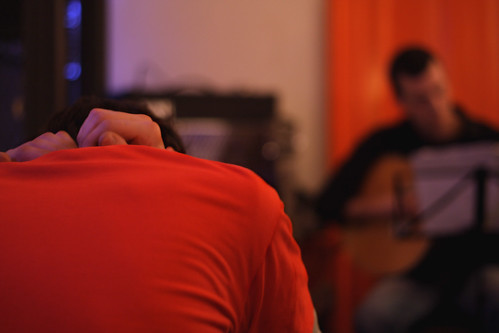 A guitarra chora baixinho