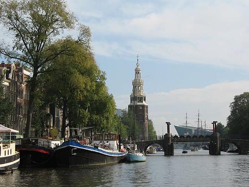 Vista de la Catedral de Amsterdam