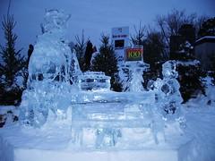 Sculpture sur glace (joadc) Tags: de québec carnaval 2008