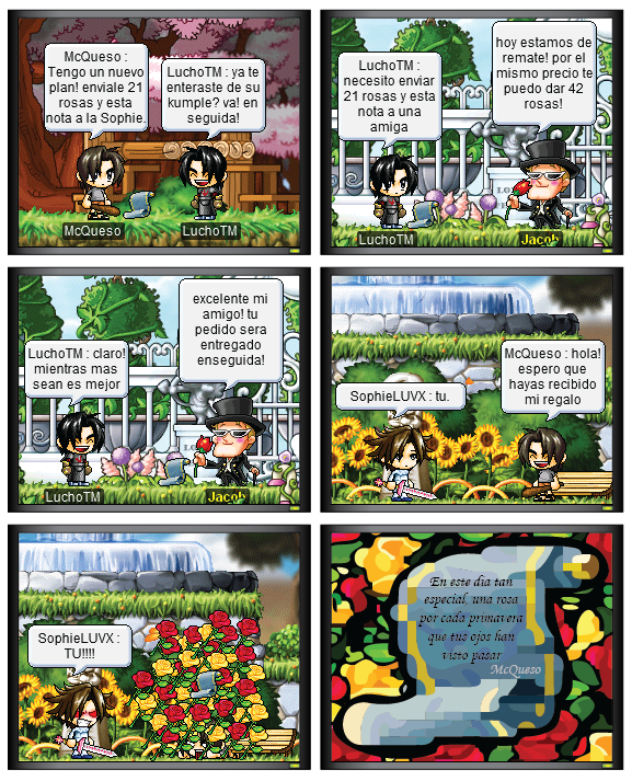 Maple Story - Maple 8 Comic #011: Primavera sin Invierno