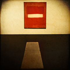 Quietude... (Julian E...) Tags: red white black texture painting square bravo geometry rothko stillness soe lacma dialogue themoulinrouge quietude justimagine artlibre colorphotoaward superbmasterpiece infinestyle megashot spendingtimealone
