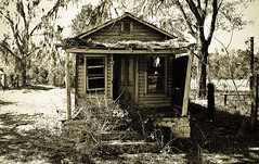 Sapp Shotgun House (tantrum_dan) Tags: house abandoned florida olympus shotgun archer e500 tantrumdan tantrumimagery