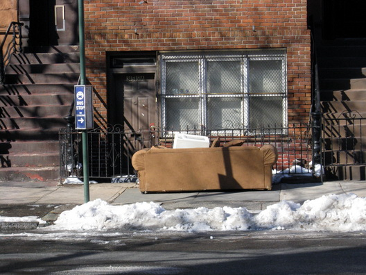 Halsey Street Bus Stop Couch