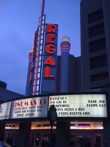 Regal Cinema in Rockville, Maryland - Taken With An iPhone