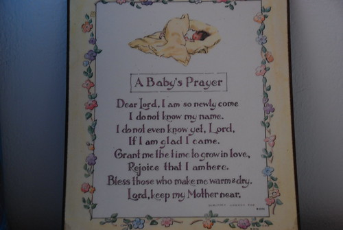 A Baby's Prayer