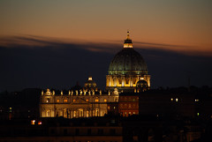 St Peter's Basilica - Roma (Giuseppe Finocchiaro) Tags: rome roma church night nikon basilica chiesa notte blueribbonwinner flickrsbest mywinners abigfave anawesomeshot diamondclassphotographer picturefantastic theperfectphotographer goldstaraward ourmasterpieces