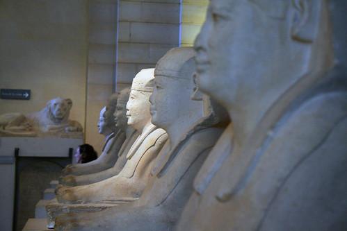 Esfinges en el Louvre