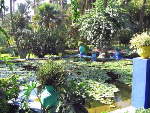 Jardines Majorelle de Marrakech