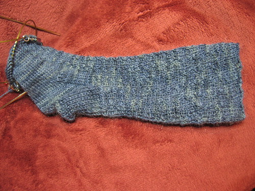 Conwy socks progress