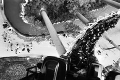 fly me to the moon...... (manuel cristaldi) Tags: travel people blackandwhite bw italy film water 35mm blackwhite noiretblanc trix verona amusementpark rollercoaster pillars gardaland attraction gardalake minox35gt 1025favorites mostexcellent views700 20favorites greatpixgallery10faves bluetornado mywinners artlibre bwphotoaward impressedbeauty ultimateshot manuelcristaldi ithinkthisisart diamondclassphotographer flickrdiamond citrit envyofflickr feltlife coolestphotographers theperfectphotographer goldstaraward lifeinmonoaward