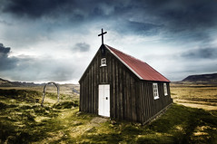 Icelandic Church (magnusmagnus) Tags: morning nature d50 iceland still nikon fresh 1224mm icelandic curch firstquality