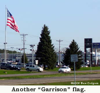 "Another ""Garrison"" flag ©2008 New Codgers"