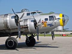 "B-17 ""Liberty Belle"" (OK Photos) Tags: oklahoma jones airport riverside b17 tulsa wildcat fm2 rl p51 rvs libertybelle richardlloydjonesjr"