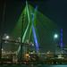 Ponte Estaiada e Torre da TV Globo - cores em sintonia?