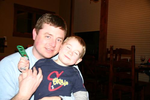 Eli & Daddy