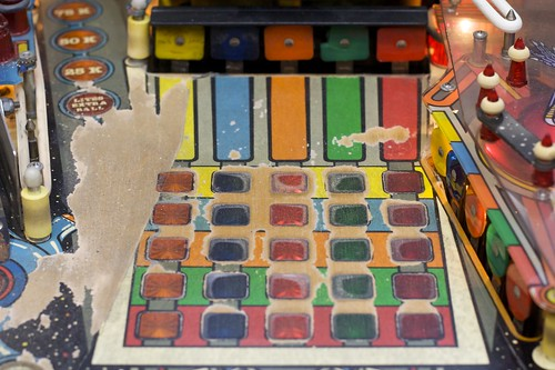 PIN-BOT: Color Grid (And Major Playfield Wear)