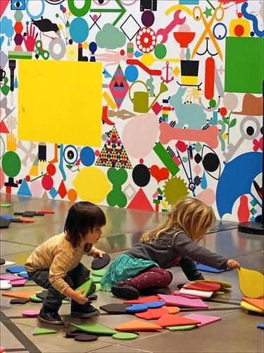 La galerie des enfants (Centre G. Pompidou, Paris)