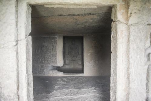 Kanheri caves in the Sanjay Gandhi National Park