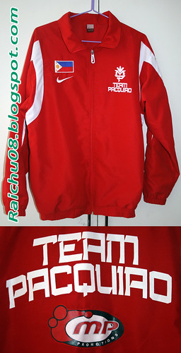 Nike Team Pacquiao Jacket