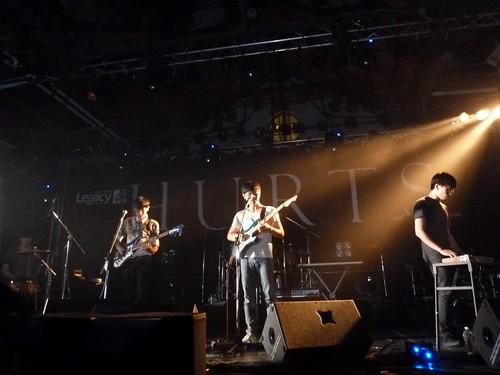 Hurts Live at Legacy, Taipei, Taiwan 5/13/2011